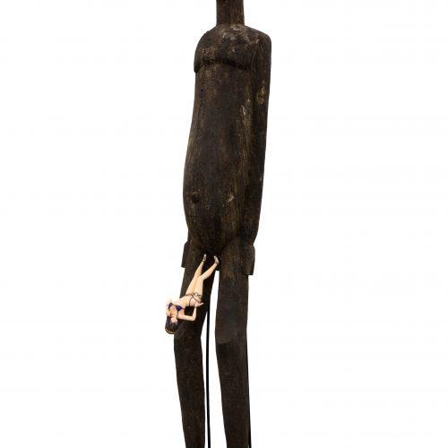 Evolution - Lobi Bateba Statue, Sen Tokugawa