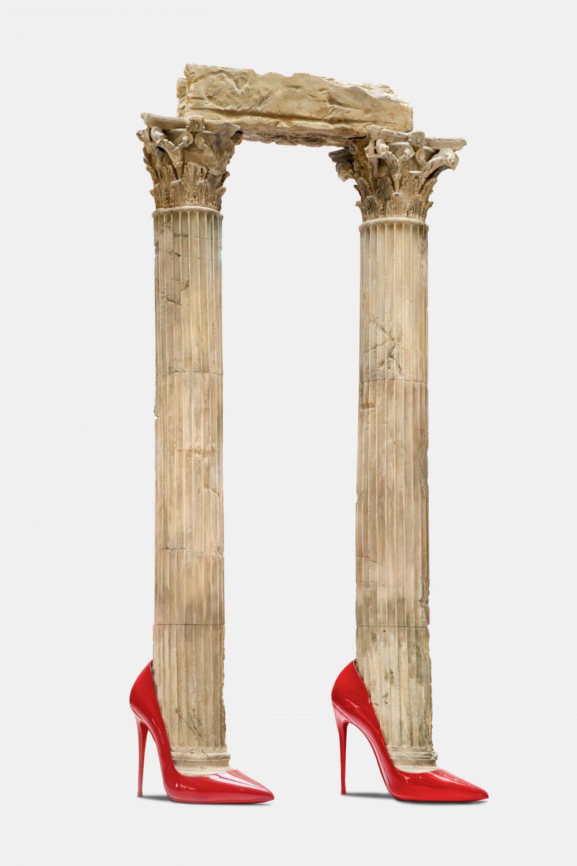 Eternity (Greek Columns, Heels)