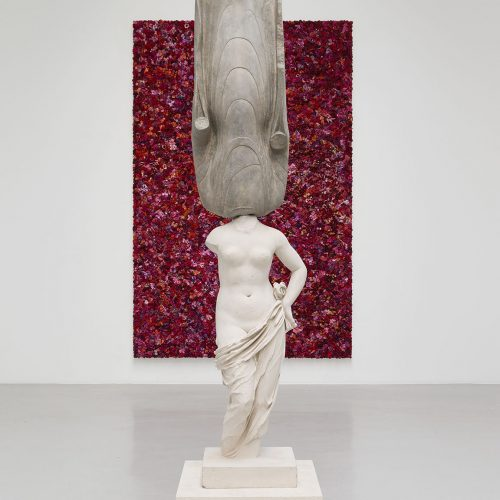Eternity- New 40403 Stone Statue, Aphrodite Holding Her Drapery