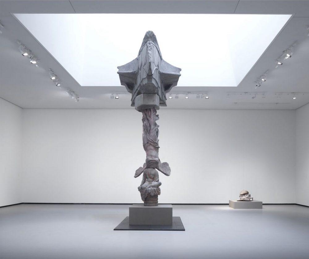 永生 – 天龙山石窟菩萨半跏像,萨莫特拉斯的胜利女神