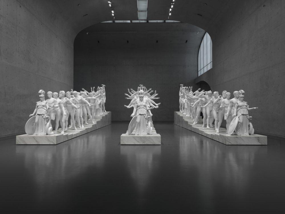 European Thousand-Arms Classical Sculpture